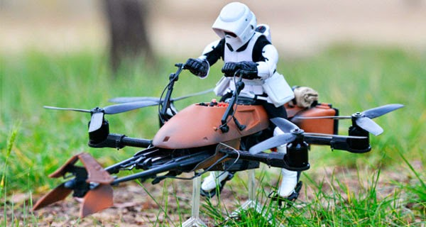 Drone Imperiar Speeder Bike