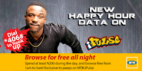 MTN IPULSE HAPPY HOUR DATA ON FREE NIGHT BROWSING