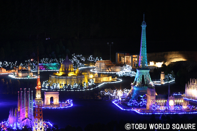 Tobu World Square Illumination