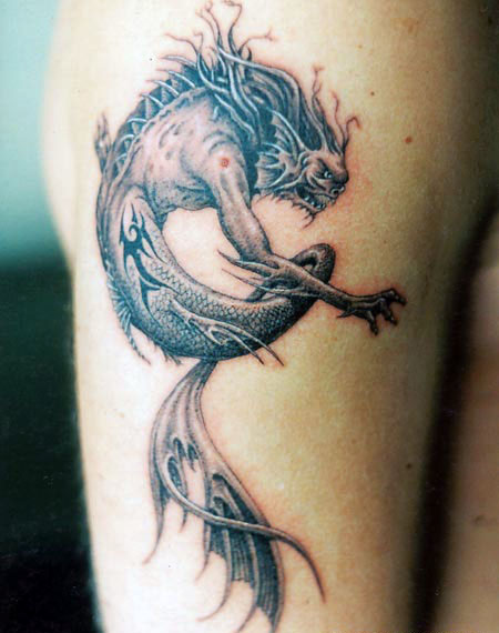 Brainsy Heart: Dragon Tattoo Meaning