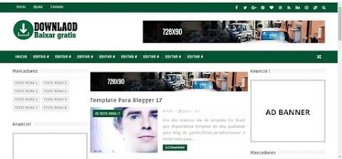 Download Baixar Gratis Template 3 Colunas Blogger
