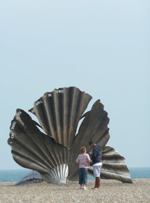 The controvorsial Scallop Sculpture