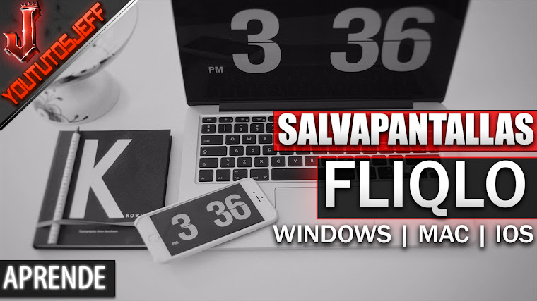 Salvapantalla de reloj Fliqlo en Windows | Mac | IOS