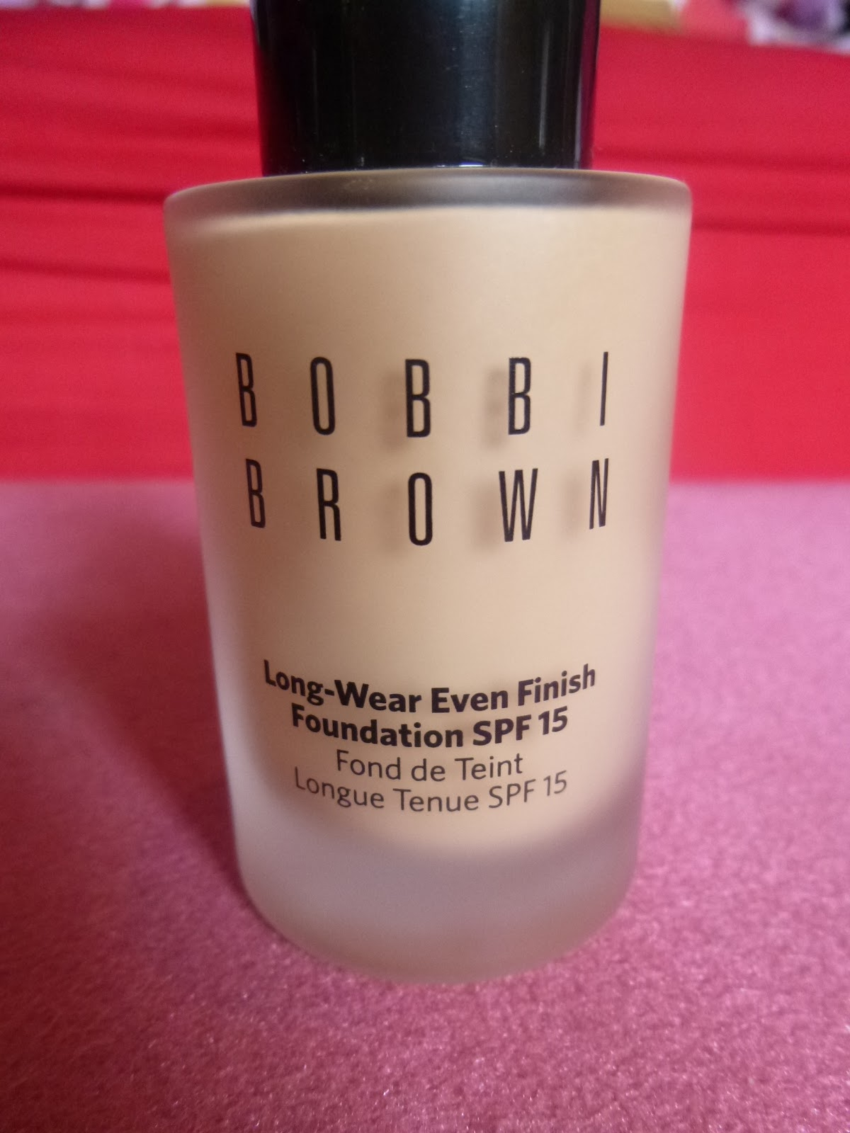 bobby brown even finish foundation