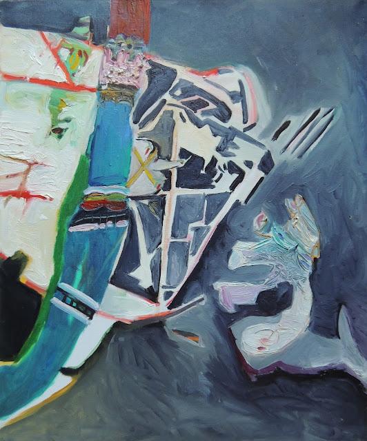 Elena Gastón pintura expresionista Zaragoza