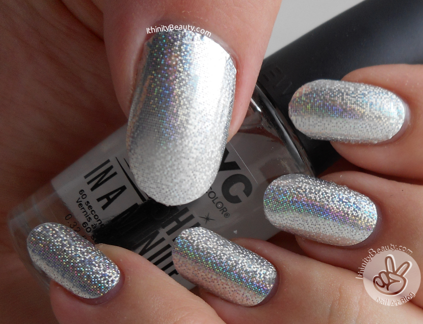16 Pc Holographic/Shimmer Full Nail Art Stickers - Born Pretty Store ...