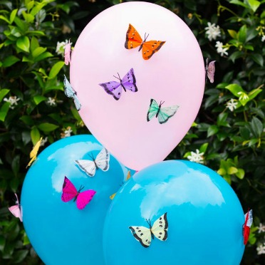 Butterfly balloons!