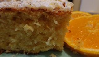Μυρωδάτο αφράτο κέικ πορτοκάλι οικονομικότατο και πολύ γρήγορο