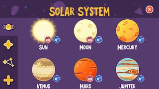 solar system star walk kids app astronomía niños