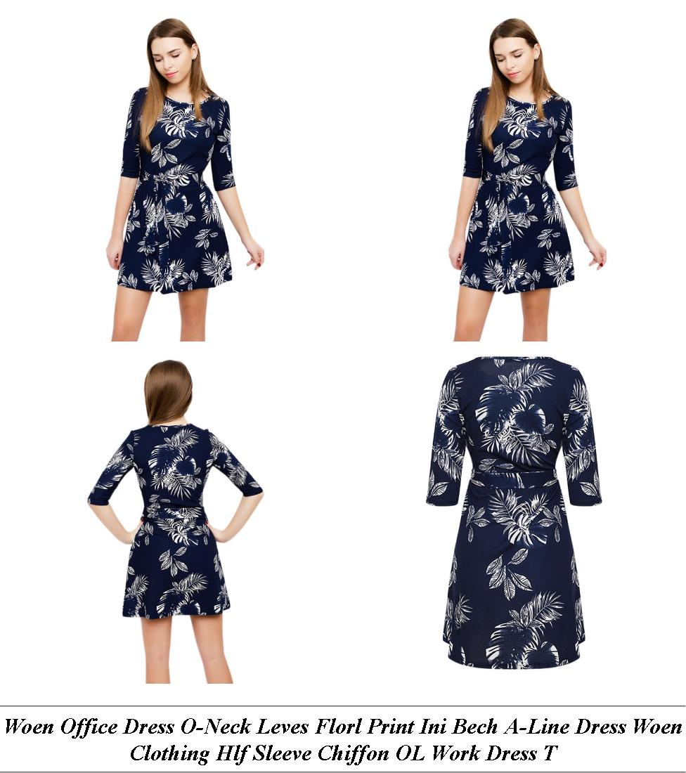 Satin Dresses Long - Sale Clearance Usa - White Short Formal Dresses With Sleeves