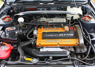 Foto Mesin Mitsubishi Eterna AMG