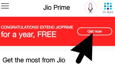 jio prime membership notification