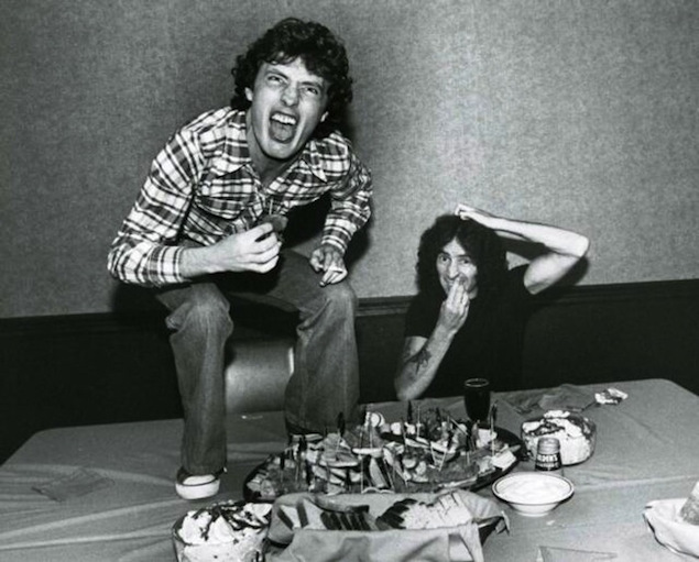 angus young and bon scott