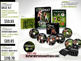 Les Mills Combat MMA At Home Les Mills Martial Arts Program Coach Barbara Christensen