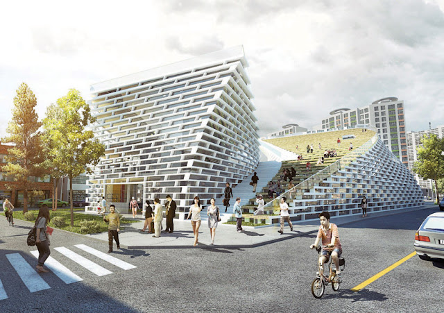 Project public library in Ying Yang Korea