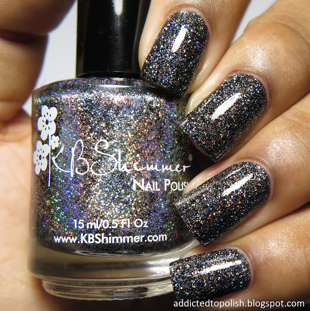 kbshimmer night bright spring 2016 mega flame black holo