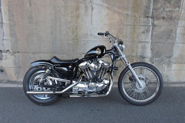 Harley Davidson Sportster By Brat Style Hell Kustom