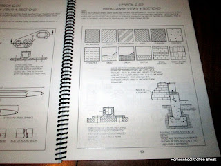 From the High School Lesson Book - Practical Drafting on Homeschool Coffee Break @ kympossibleblog.blogspot.com