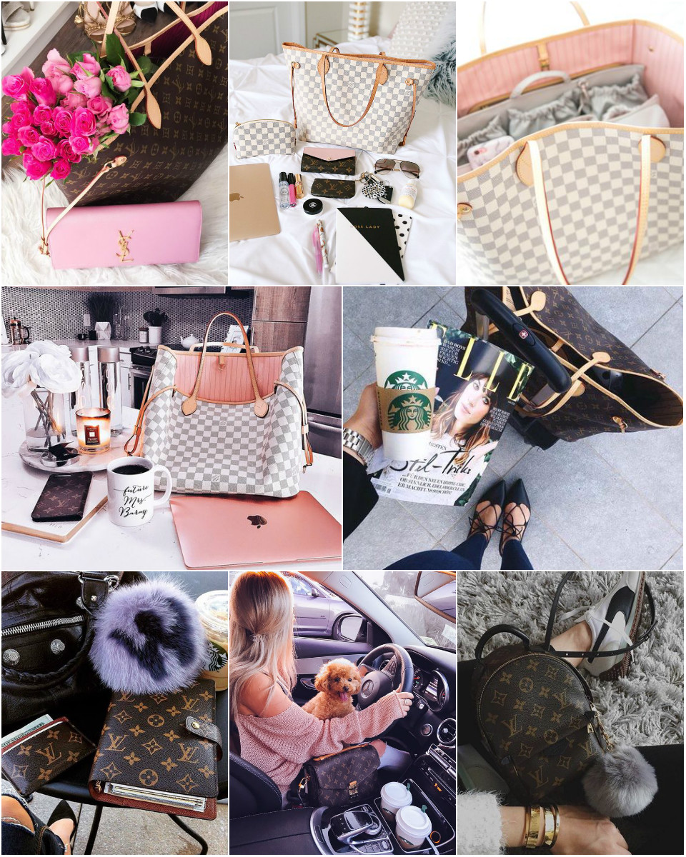 louis vuitton love collage, 5 uses for your louis vuitton key pouch