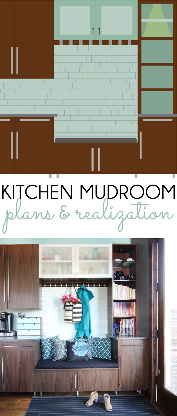 Kitchen Mudroom Plans Become Reality
