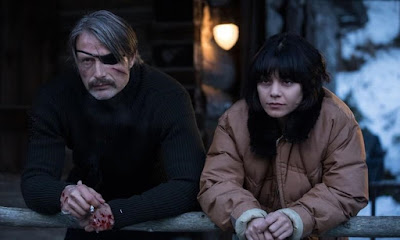 Polar 2019 Netflix movie Mads Mikkelsen Vanessa Hudgens