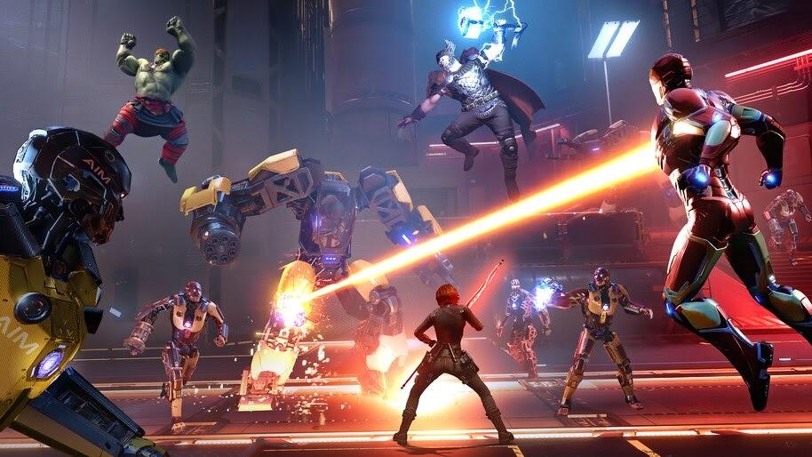 Marvels Avengers, Game, Battle, 4K, #3.2310