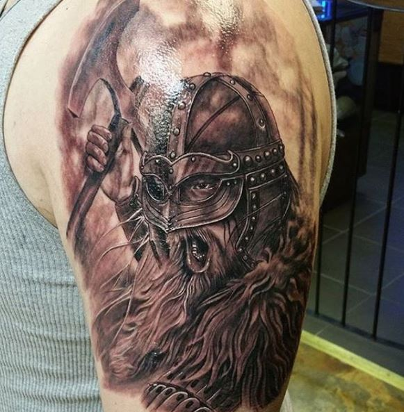 58 ancient norse tattoos for mythology lovers 2018 for Valknut symbol tattoo