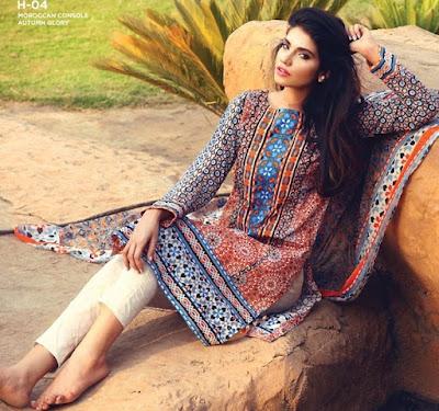 HAIQA Lawn Mid-Summer / Ramzan Prints 2015