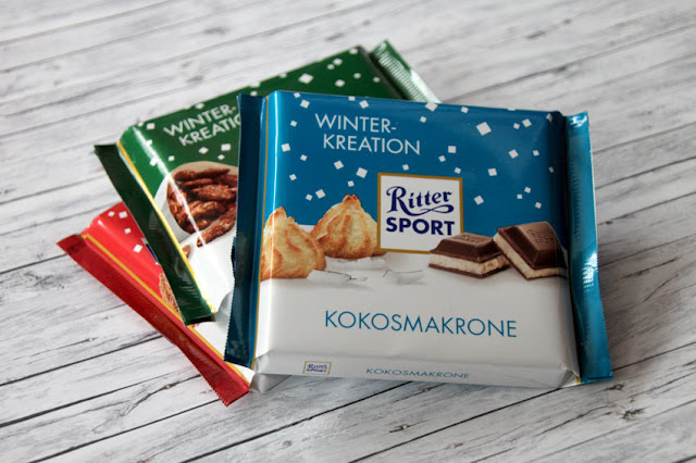 Ritter Sport Schokolade Winter-Kreation - Kokosmakrone