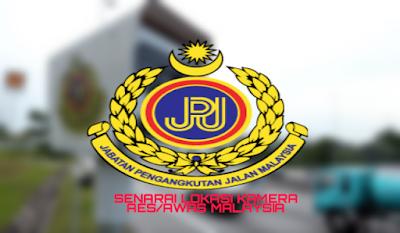 Senarai Lokasi Kamera AES/ AWAS 2018 di Malaysia