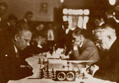 Partida Marín-Wagner, Olimpiada de ajedrez de Hamburgo 1930