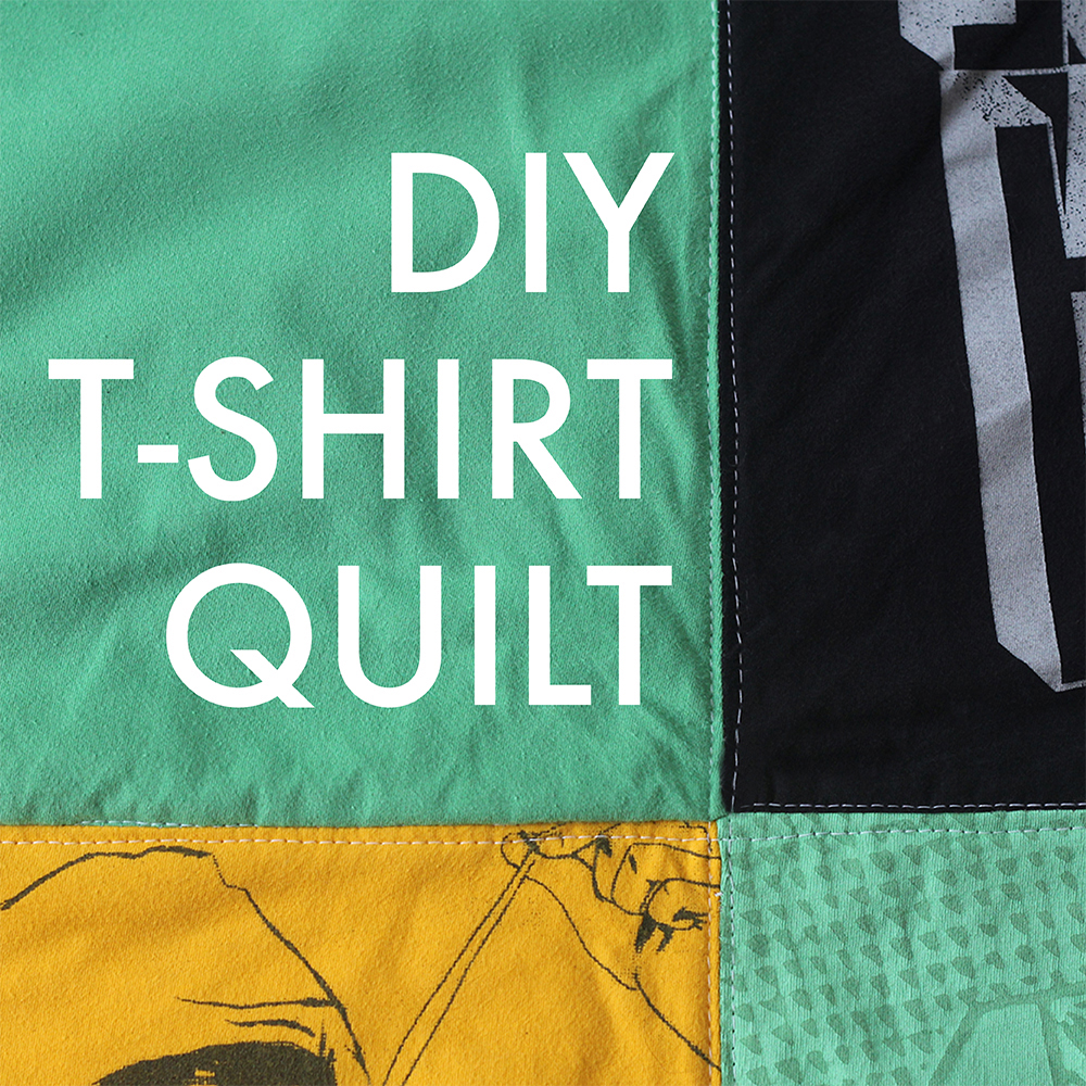 DIY T-Shirt Quilt Tutorial