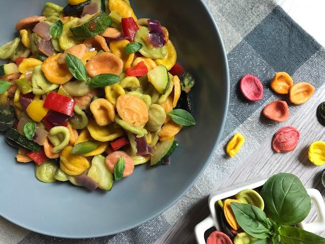 orecchiette con verduras receta