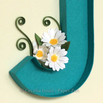 how to quilling letters tutorial pattern