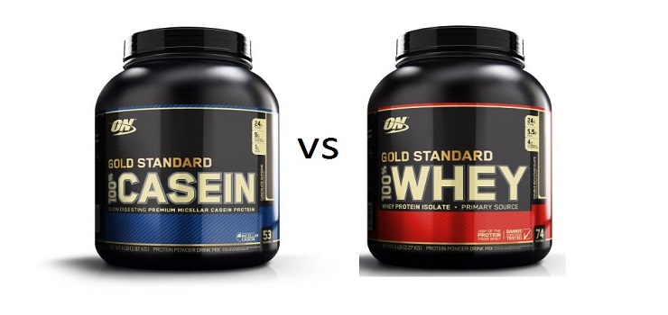 Did you know the differences and benefits of Whey and Casein Protein?