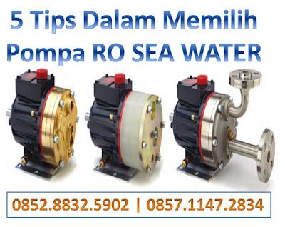Tips Memilih Pompa Untuk Ro Air Laut Olah Air Com