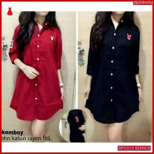 SCP013K33 Kemboy Rayon Katun Dress Wanita | BMGShop
