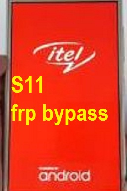 Itel S11 google account reset and FRP bypass