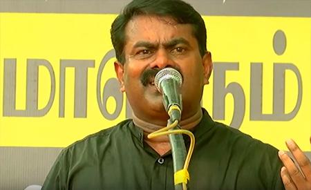 Naam Thamizhar Seeman slams Narendra ModI, Jayalalitha and MK Stalin