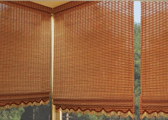 Ahşap Bambu Stor Perde Modelleri