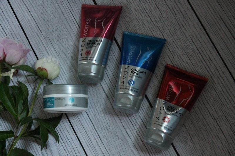 avon works kosmetyki wyszczuplające