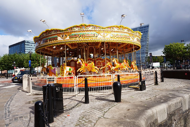 carousel Albert Dock Liverpool