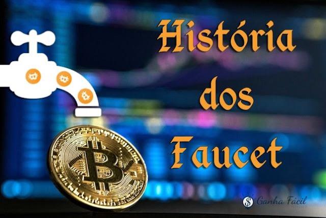faucet história btc bitcoin torneira