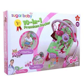 Sugar baby 10in1 Premium Rocker Little Owl