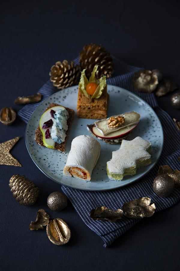 Apéro vegan de Noël chic & facile