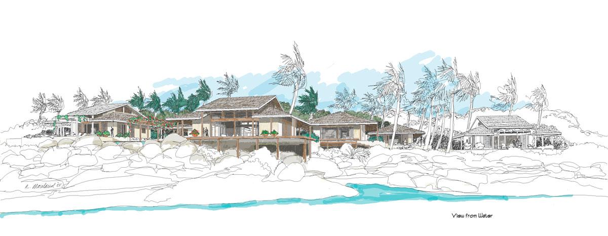 MCM DESIGN: Island House Plan 2