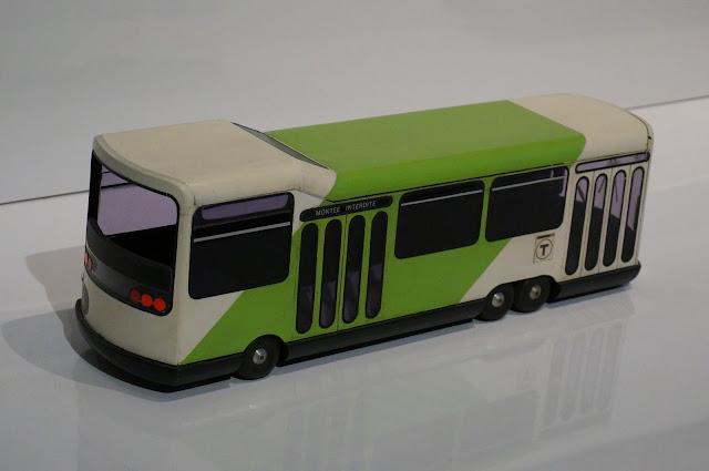 maquette Urbus RATP 1976 Roger Tallon