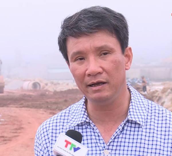 Ông Nguyễn Tiến Dũng, Phó Bí thư Huyện ủy