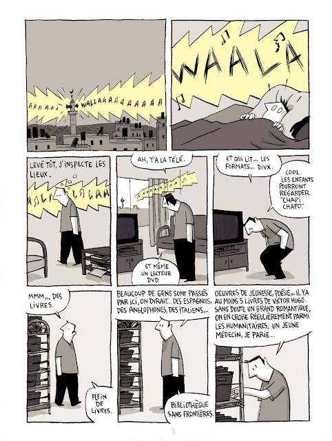 Chroniques de Jérusalem de Guy Delisle planche 1