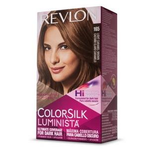 Thuốc nhuộm tóc Revlon ColorSilk Light Caramel Brown hàng chính hãng Mỹ
